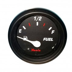 Faria Professional 2- Fuel Level Gauge - Red