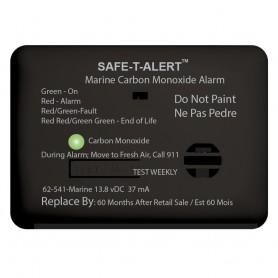 Safe-T-Alert 62 Series Carbon Monoxide Alarm w-Relay - 12V - 62-541-R-Marine - Surface Mount - Black
