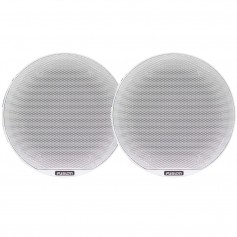 FUSION SG-C77W Signature Series Speakers 7-7- Classic Grill - 280 W - White