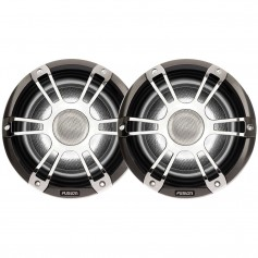 FUSION SG-CL77SPC Signature Series Speakers 7-7- Grill - 280 W -Silver-Chrome