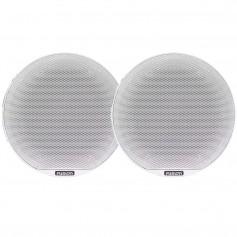 FUSION SG-F88W Signature Series Speakers 8-8- Classic Grill - 330 W - White
