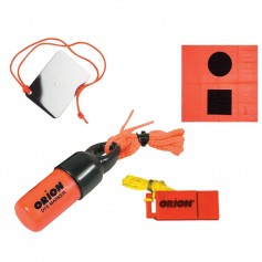 Orion Signaling Kit - Flag- Mirror- Dye Marker Whistle