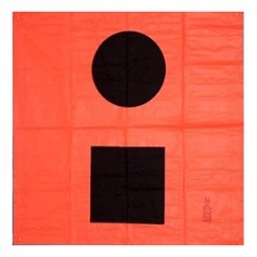 Orion Orange Distress Flag