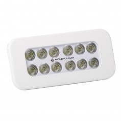 Aqualuma Flush Mount Spreader Light 12 LED - White Bezel