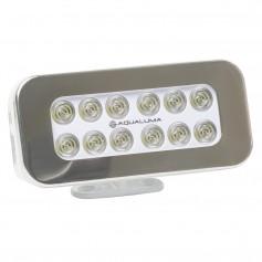 Aqualuma Bracket Mount Spreader Light 12 LED - Stainless Steel Bezel