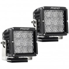 RIGID Industries D-XL PRO Diffused - Pair - Black
