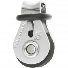 Ronstan Series 15 Ball Bearing Utility Block - Single Block- Loop Head