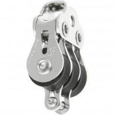 Ronstan Series 15 Ball Bearing Utility Block - Triple Block- Becket- Loop Head