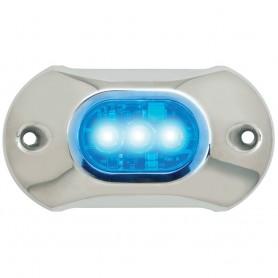 Attwood Light Armor Underwater LED Light - 3 LEDs - Blue