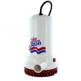 Rule 1800 Sump-Utility Pump w-24- Cord