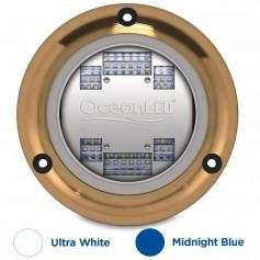 OceanLED Sport S3124s Underwater LED Light - Ultra White-Midnight Blue