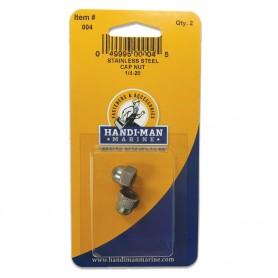 Handi-Man Stainless Steel Cap Nut - 1-4-2