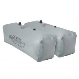 FATSAC V-drive Fat Sacs - Pair - 400lbs Each - Gray