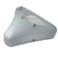 FATSAC Open Bow Triangle Fat Sac Ballast Bag - 650lbs - Gray