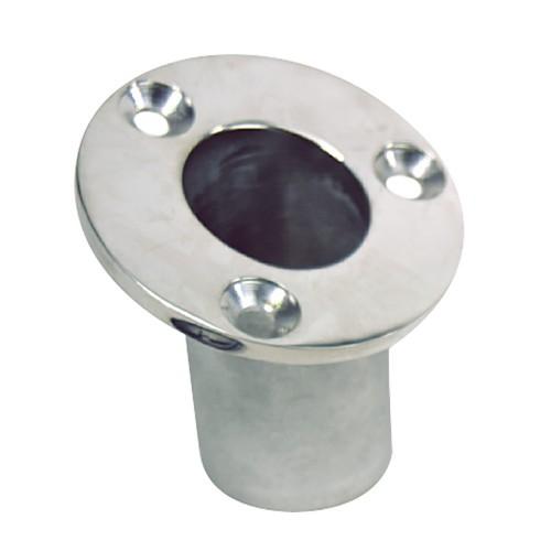 Whitecap Flush Mount Flag Pole Socket - Stainless Steel - 1-1-4- ID