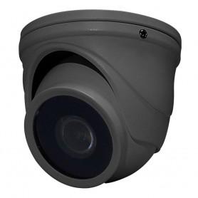 Speco HD-TVI 2MP Intensifier T Mini-Turret Camera- 2-8mm Fixed Lens - Dark Gray Housing