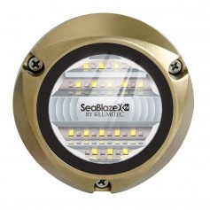 Lumitec SeaBlazeX2 LED Underwater Light - Dual Color - White-Blue