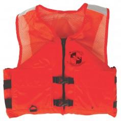 Stearns Work Zone Gear Life Vest - Orange - Large