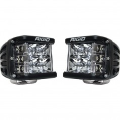 RIGID Industries D-SS Series PRO Spot Surface Mount - Pair - Black