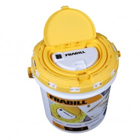 Frabill Dual Fish Bait Bucket with Aerator Built-In