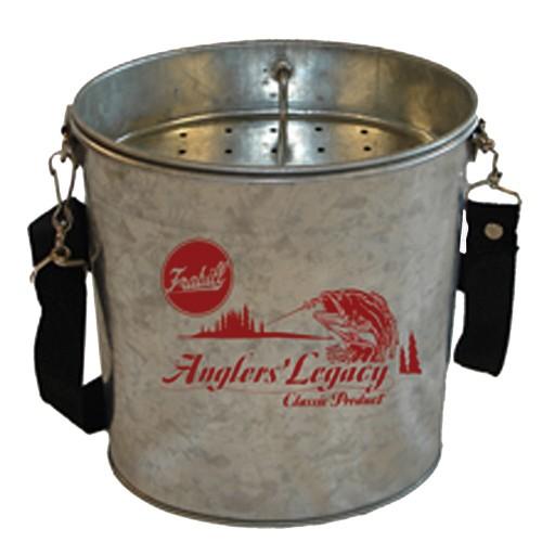 Frabill Galvanized Wade Bucket - 2 Quart