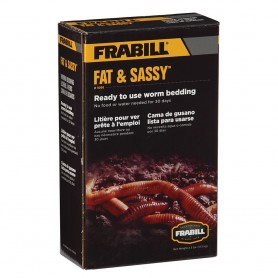 Frabill Fat Sassy Pre-Mixed Worm Bedding - 2-5lbs