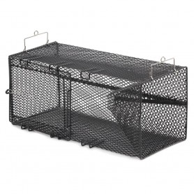 Frabill Black Pinfish Rectangular Trap - 18- x 12- x 8-