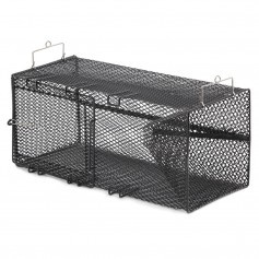 Frabill Black Crawfish Rectangular Trap - 8- x 8- x 18-