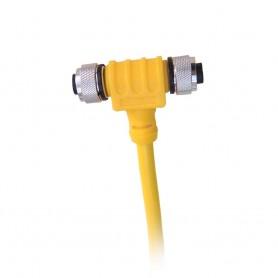 Maretron Micro Powertap Tee 5M Power Drop Bottom - Female L-R