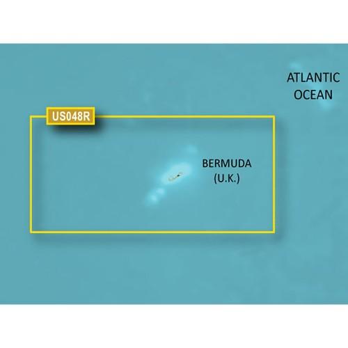 Garmin BlueChart g3 Vision HD - VUS048R - Bermuda - microSD-SD