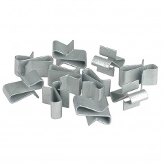 C-E- Smith Trailer Frame Clips - Zinc - 3-8- Wide - 10-Pack