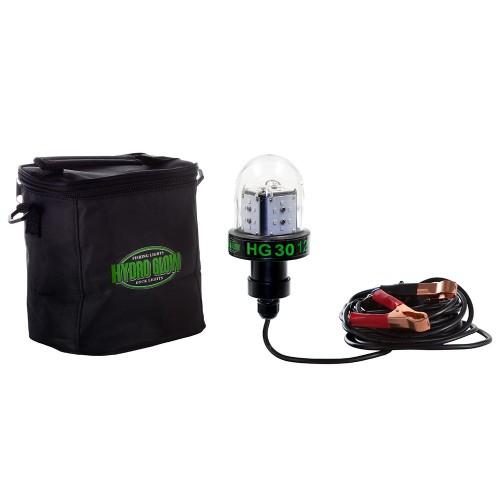 Hydro Glow HG30 30W-12V Deep Water LED Fish Light - Green Globe Style