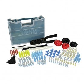 Ancor 225 Piece Electrical Repair Kit w-Strip - Crimp Tool