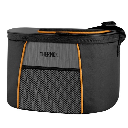 Thermos Element5 6-Can Cooler - Black-Gray