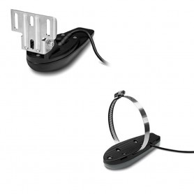 Garmin GT20-TM Transom Mount DownVu 500W -CHIRP 455-800kHz- Traditional 500W -77-200 Hz- Transducer w-Temp - 4-Pin