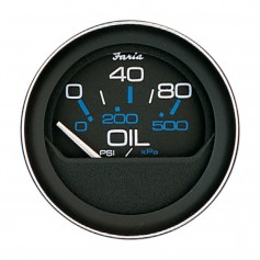 Faria 2- Oil Pressure Gauge 80 PSI