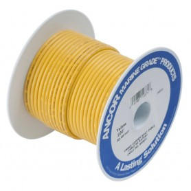 Ancor Yellow 4 AWG Battery Cable - 25-