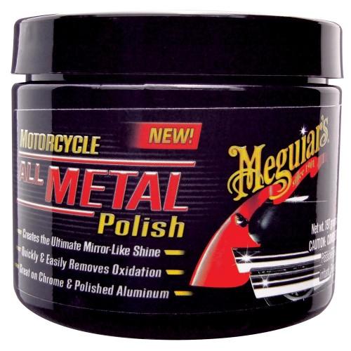 Meguiars Motorcycle Metal Polish -Case of 6-