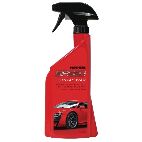Mothers Speed Spray Wax - 24oz -Case of 6-