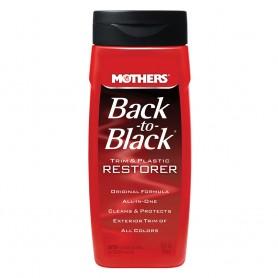 Mothers Back-To-Black Trim Plastic Restorer - 12oz -Case of 6-