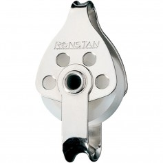 Ronstan Series 30 Utility Block - Single- Becket- Loop Head