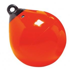 Taylor Made 9- Tuff End Inflatable Vinyl Buoy - Orange