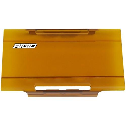 RIGID Industries E-Series Lens Cover 6- - Amber