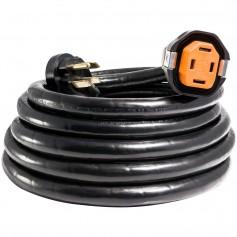 SmartPlug 50 Amp RV 30 Dual Configuration Cordset - Black -SPS X Park Power-