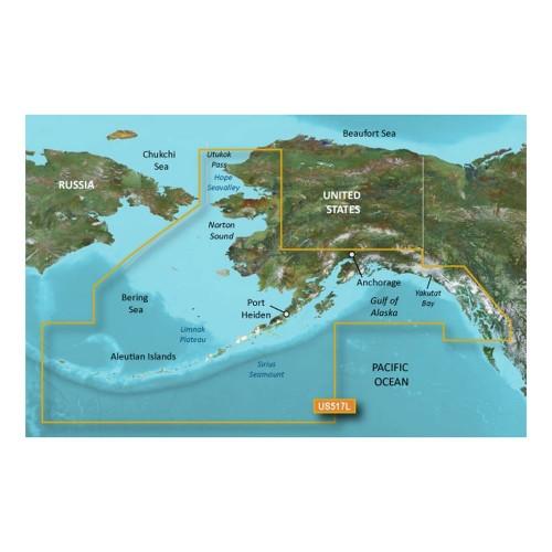 Garmin BlueChart g3 Vision HD - VUS517L - Alaska South - microSD-SD