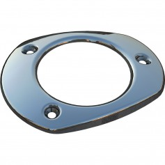 Mate Series Stainless Steel Cap f-Oval Plastic Rod Holders