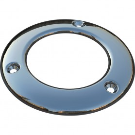 Mate Series Stainless Steel Cap f-Round Plastic Rod Holders