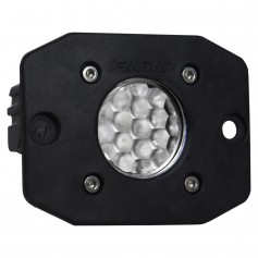 RIGID Industries Ignite Flush Mount Diffused - Single - Black