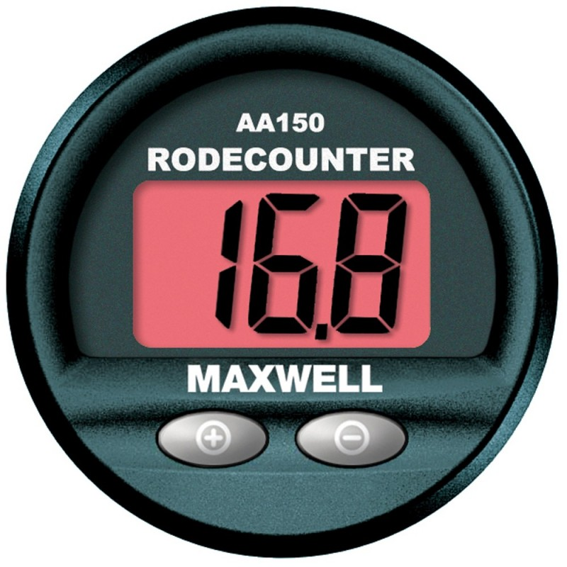 Maxwell AA150 Chain - Rope Counter