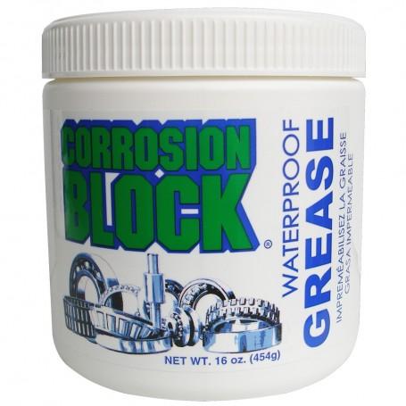 Corrosion Block High Performance Waterproof Grease - 16oz Tub - Non-Hazmat- Non-Flammable Non-Toxic